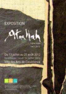 Exposition à la Villa des arts de Casablanca: Rétrospective de Mohamed Romain Ataallah