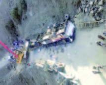 Un autocar tombe du pont de Tassaka l'accident de la route près d'Essaouira fait 17 morts