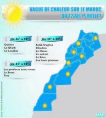 Les températures oscilleront entre 38 et 48 degrés Celsus : La canicule est de retour