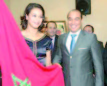 Wiam Dislam porte-drapeau de la délégation marocaine
