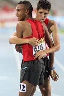 Mondiaux d'athlétisme juniors: Du bronze pour Labâli et El Bahraoui