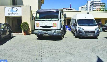 Un lot de produits et matériel de stérilisation fourni à la province d'Al Hoceima
