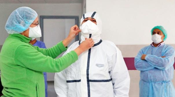 Le personnel médical et paramédical d'Errachidia aux avant-postes du combat contre le coronavirus