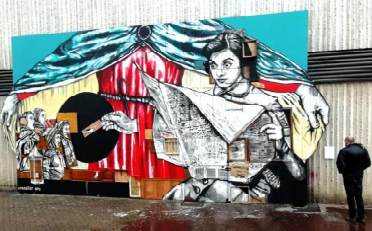 Confiné, le street art trouve un second souffle en ligne