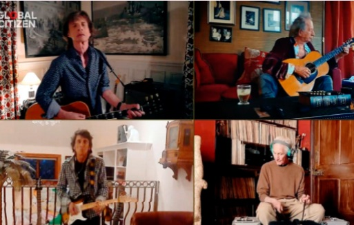 """""""Living in a Ghost Town"""", nouvelle chanson des Rolling Stones"""