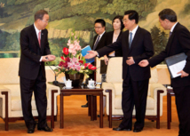 Pour une résolution contre Damas: Ban Ki-moon demande l'appui de la Chine