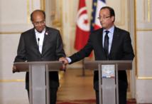 Visite de Marzouki à Paris: La France veut aider  la Tunisie à récupérer ses avoirs