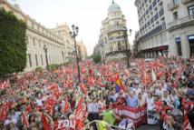 Les manifestations ont mal tourné en Espagne: Graves débordements à Madrid