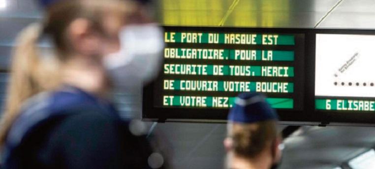 Une reprise d'activité masquée et à tout petits pas en Belgique