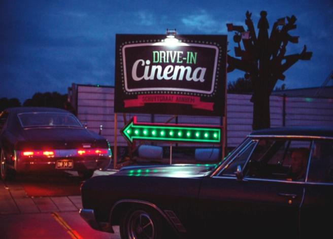 """Le """"Drive in""""  pour ne pas  se priver  des plaisirs  de la vie"""