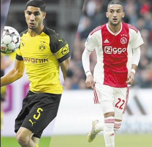 Des paires marocaines à Chelsea, Olympiacos et Lazio en perspective