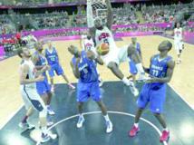 Basket: Les Américains déroulent