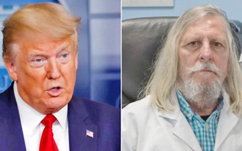 Président Raoult  et docteur Trump