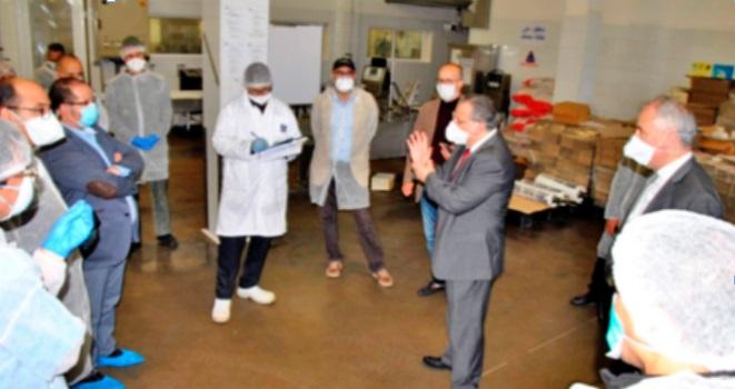 Vers une reprise progressive des activités de production à Larache