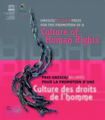 Lancement de la troisième édition Prix Unesco/Bilbao : La promotion de la culture des droits de l'Homme