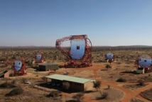 Installation du plus grand télescope du monde en Namibie
