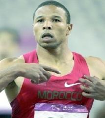 Il a préféré le 200 au 100 m : Aziz Ouhadi, 6ème dans sa série