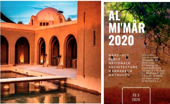Nouvelle édition de Mi'mâr  : L'ENA de Marrakech  célèbre l'architecture en terre crue