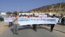Commune rurale d'Imintlit : Marche contre la soif et la «hogra»