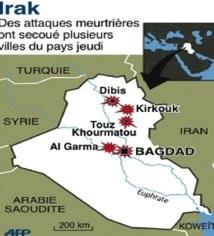 L'Irak en proie à une série d'attaques meurtrières
