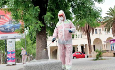 4060 opérations de désinfection dans la province de Khénifra