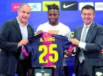Recruté par le Barça, Song se dit heureux