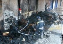 Casablanca : Incendie au marché de gros