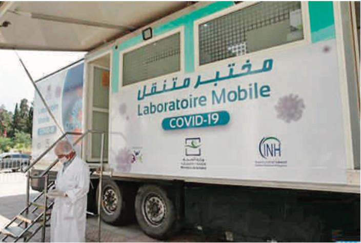 Le laboratoire mobile d'analyses de biologie moléculaire fait escale à Sefrou