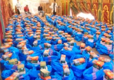 Aide alimentaire aux nécessiteux de Béni Mellal