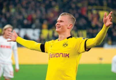 Bundesliga : L'apprenti Haaland défie le maître Lewandowski
