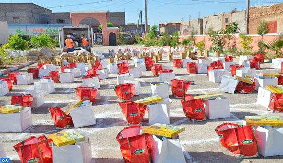 Campagne de solidarité avec les victimes des inondations à El Kelâa des Sraghna