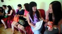 Des femmes chinoises en compétition pour épouser un millionnaire