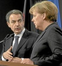 Merkel à Madrid : Sortir l'Espagne de sa crise