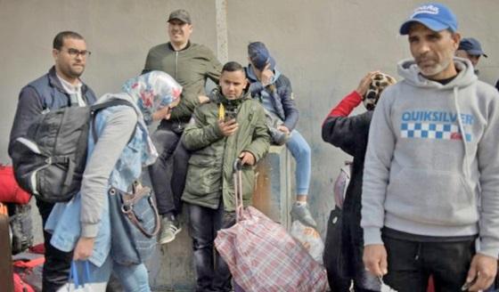 Retour à leurs villes d'origine  de 408 étudiants coincés à Agadir