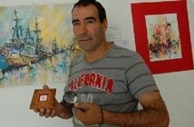 """Une exposition de l'artiste Noureddine Akharroub : La """"Plus petite toile au monde""""  présentée à Agadir"""