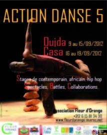 Cinquième Festival « Action Danse » : Spectacles de danse contemporaine et hip-hop à Casablanca