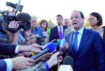 Face à la crise de la zone euro: Hollande à la télévision pour reconquérir l'opinion
