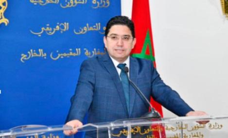 Rejet par le Maroc des mesures israéliennes dans les territoires palestiniens occupés