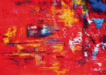 Biennale de l'art abstrait du XXIème siècle en France : Hayat Saidi expose sa récente «Inspiration»
