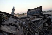 Syrie: Intenses bombardements lors  de la visite de Brahimi