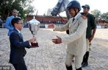 GP Feue SAR la Princesse Lalla Amina de saut d'obstacles : Victoire de Hassan Jabri