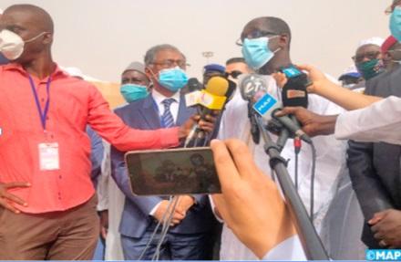 Abdoulaye Diouf Sarr, ministre sénégalais de la Santé et de l'Action sociale