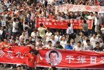 Entre la Chine et le Japon les tensions ne semblent guère s'atténuer