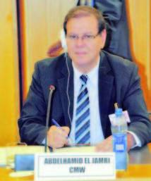 """Entretien avec Abdelhamid El Jamri, président du Système des Nations unies pour les droits de l'Homme """"Le Maroc apportera certainement  un nouveau souffle à l'Union africaine"""""""
