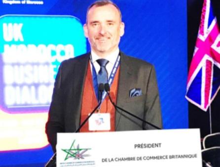 Stephen Orr, nouveau président de la Britcham : Le Brexit constitue une réelle opportunité pour  renforcer les liens économiques maroco-britanniques