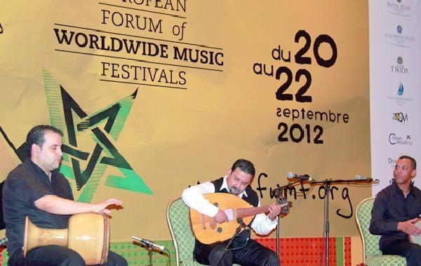 Musiques du monde : Forte participation des artistes et professionnels marocains  au Forum d'Agadir