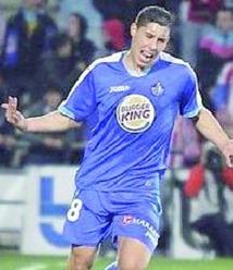 Liga : Troisième but de Barrada