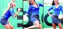 Une ancienne Miss à la tête d'une équipe croate : Quand la gente féminine porte la culotte