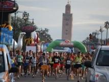 Course internationale de Marrakech (10 km) : Participation d'environ 2.000 athlètes à la 3è édition