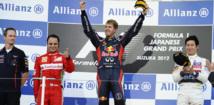 Formule 1: Sebastien Vettel remporte le Grand Prix du Japon